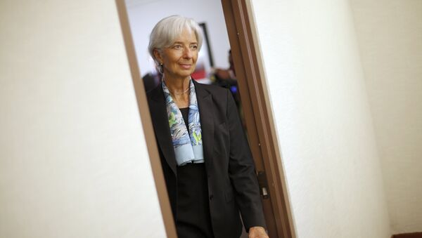 Christine Lagarde, directora del FMI - Sputnik Mundo