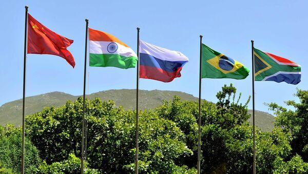 Banderas de los BRICS - Sputnik Mundo
