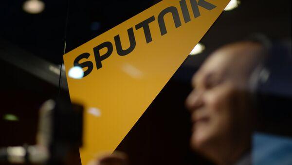 El logo de la agencia de noticias Sputnik - Sputnik Mundo