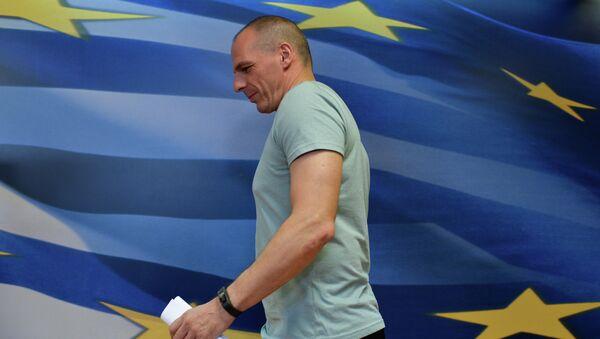 Yanis Varufakis, exministro de Finanzas de Grecia - Sputnik Mundo
