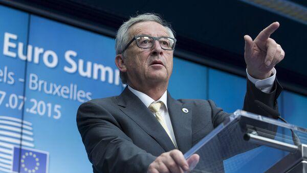Jean-Claude Juncker, presidente de la CE - Sputnik Mundo