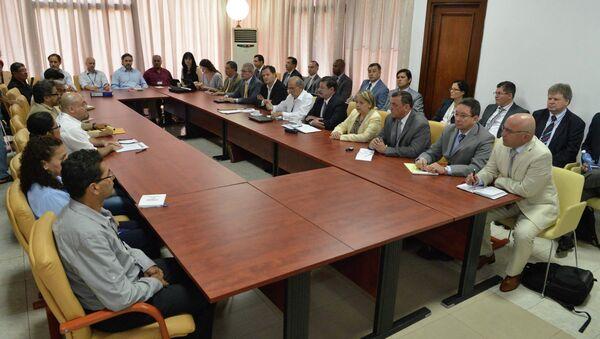 Negociaciones entre Gobierno de Colombia y FARC (Archivo) - Sputnik Mundo