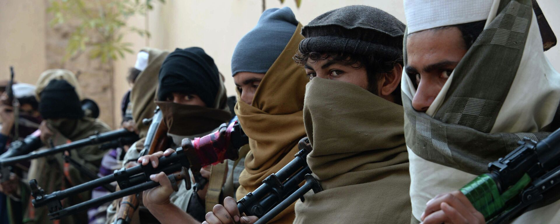 Talibanes afganos (archivo) - Sputnik Mundo, 1920, 01.07.2021