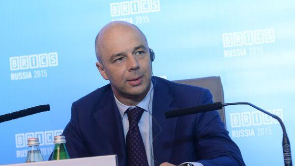 Antón Siluánov, ministro de Desarrollo Económico de Rusia - Sputnik Mundo