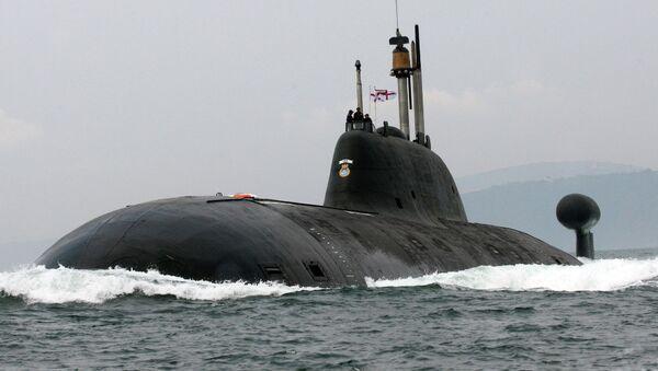 Submarino nuclear К-152 Nerpa - Sputnik Mundo