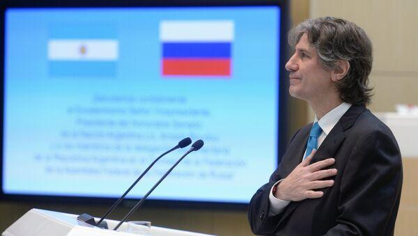 Amado Boudou, vicepresidente de Argentina, el 8 de julio, 2015 - Sputnik Mundo