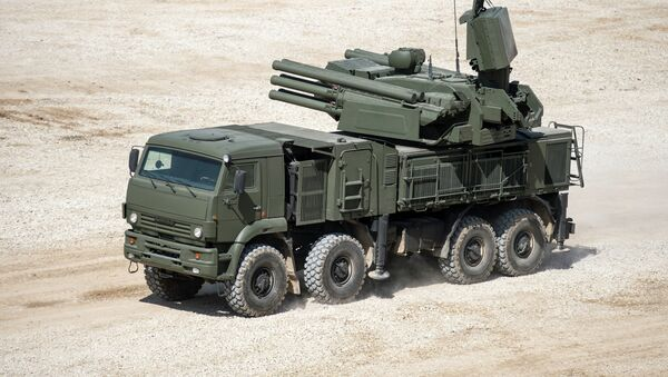Sistema antiaéreo Pántsir-S - Sputnik Mundo
