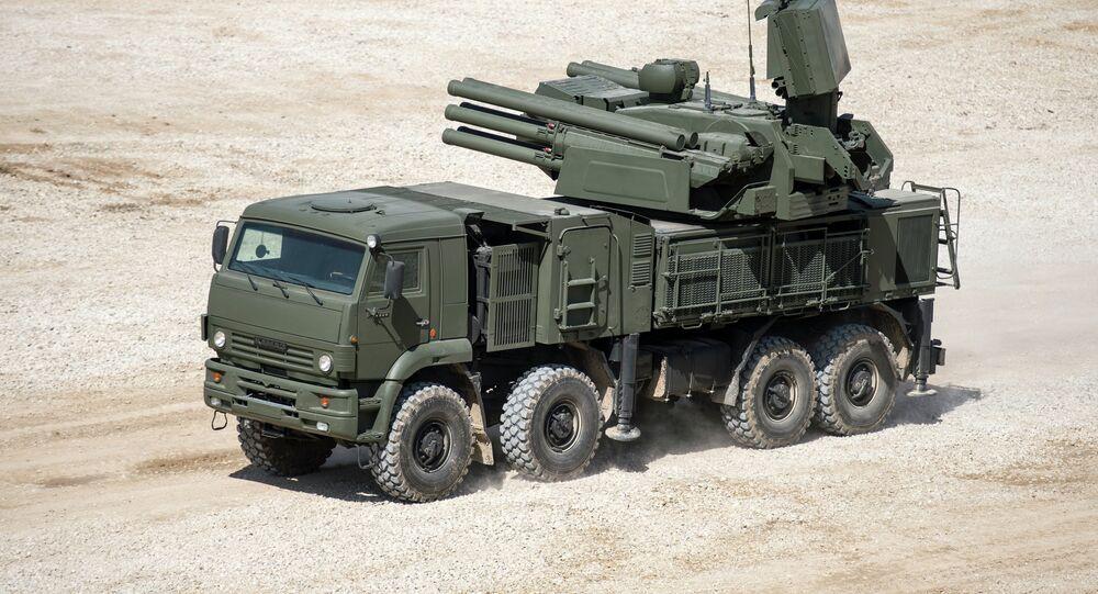 Sistema antiaéreo Pántsir-S
