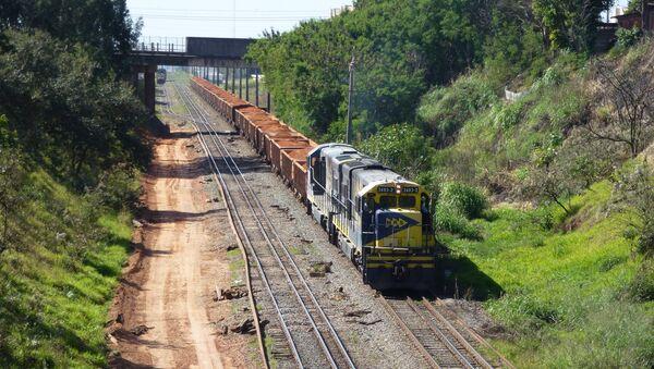Tren en Brasil - Sputnik Mundo