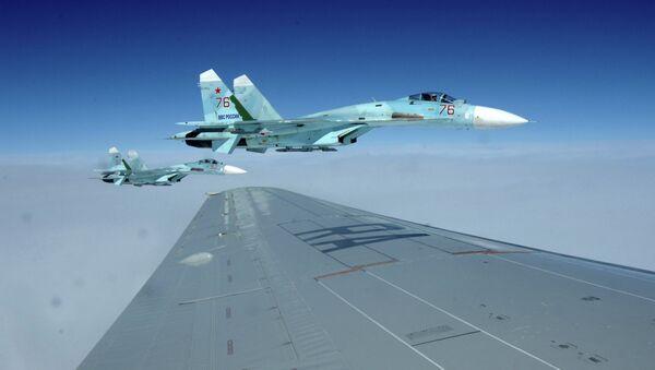 Caza Su-27 - Sputnik Mundo