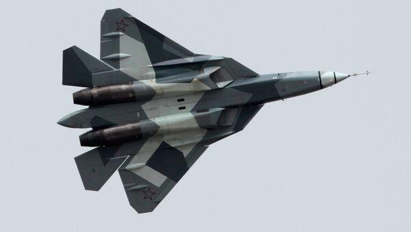 Sukhoi T-50 (PAK FA) - Sputnik Mundo