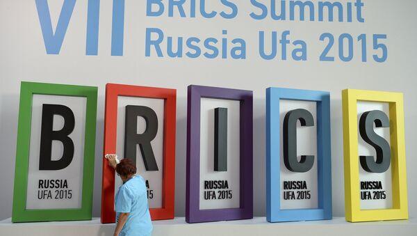 Cumbre de BRICS en Ufá, Rusia, el 7 de julio, 2015 - Sputnik Mundo