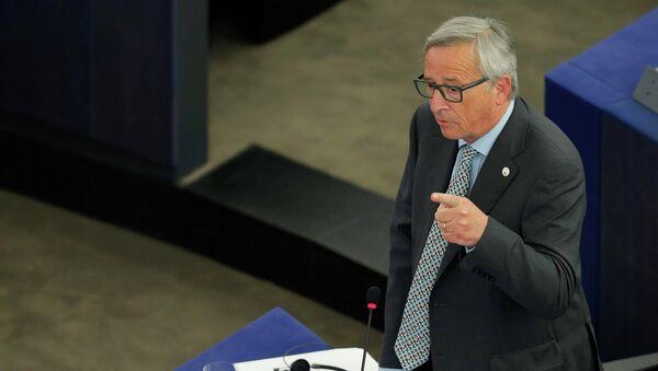 El jefe de la Comisión Europea, Jean-Claude Juncker - Sputnik Mundo