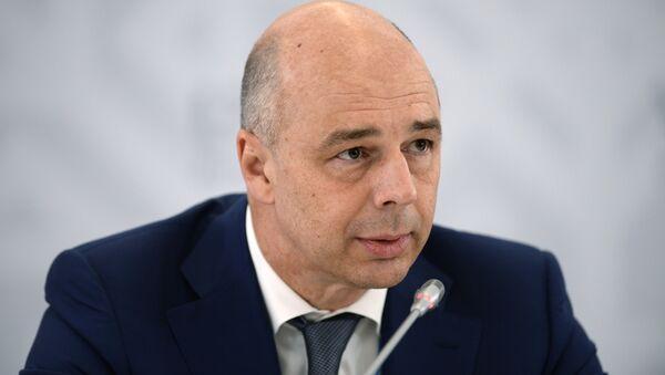 Antón Siluánov, ministro de Finanzas de Rusia, el 8 de julio, 2015 - Sputnik Mundo