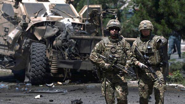 Soldados de la OTAN en Afganistán (archivo) - Sputnik Mundo