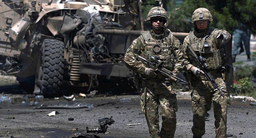 Soldados de la OTAN en Afganistán (archivo)
