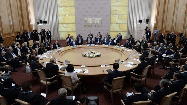 Reunión de los líderes de BRICS - Sputnik Mundo
