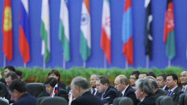 Sesión del Consejo de jefes de gobiernos de Estados miembros de OCS (archivo) - Sputnik Mundo
