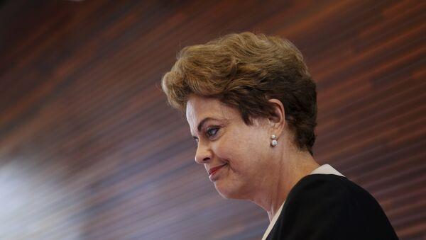 Dilma Rousseff, presidenta de Brasil, en California, EEUU, el 2 de julio, 2015 - Sputnik Mundo