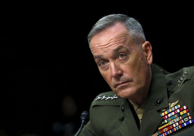 General Joseph Dunford, presidente del Estado Mayor Conjunto de EEUU