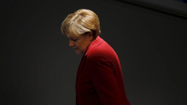 Ángela Merkel, canciller alemana - Sputnik Mundo