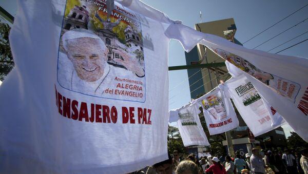 """Llamado del Papa coincide con el """"corazón"""" de demanda marítima boliviana, dice diplomático - Sputnik Mundo"""
