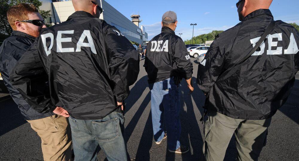 Agentes de la DEA (archivo)