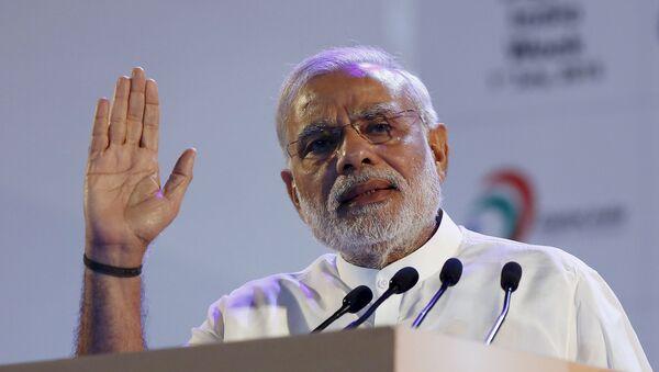 Narendra Modi, primer ministro de la India, el 1 de julio, 2015 - Sputnik Mundo