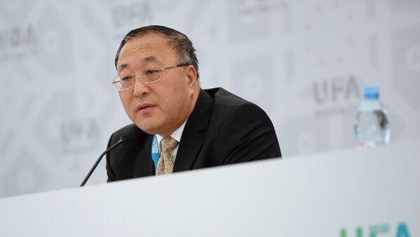 Zhang Jun, el director del departamento de Economía Internacional del Ministerio de Relaciones Exteriores de China - Sputnik Mundo