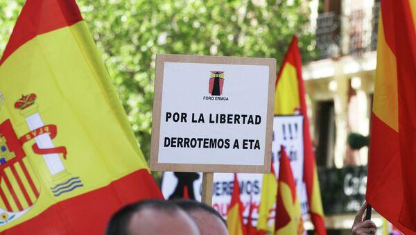 Manifestación de víctimas del terrorismo de la ETA en Madrid - Sputnik Mundo