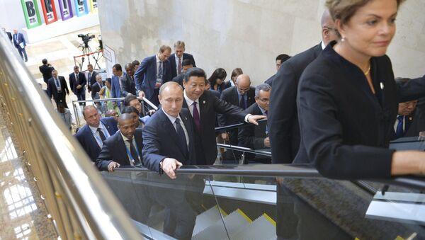 La Cumbre de los BRICS en Ufá - Sputnik Mundo