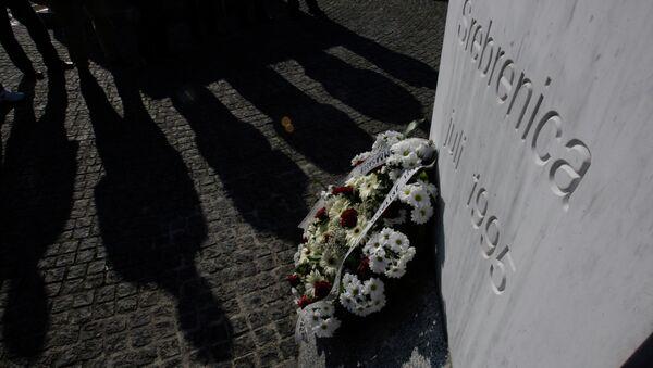 Homenaje a las víctimas de la masacre de Srebrenica - Sputnik Mundo