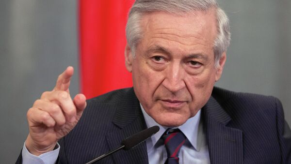 Heraldo Muñoz, ministro de Asuntos Exteriores de Chile - Sputnik Mundo