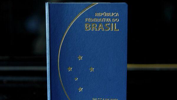 Nuevo modelo de pasaporte brasileño - Sputnik Mundo