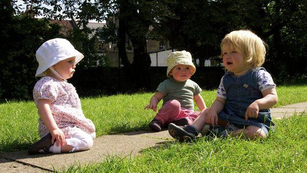Niños en Gran Bretaña (archivo) - Sputnik Mundo