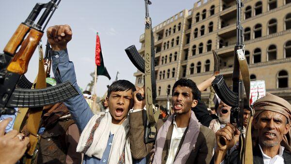 Hutíes yemeníes - Sputnik Mundo