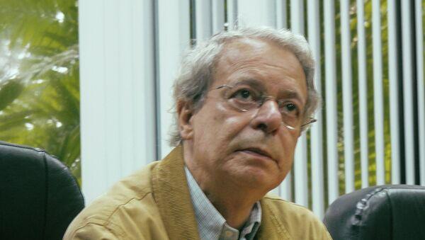Frei Betto, asesor especial durante de la Presidencia con Lula da Silva y uno de los fundadores del Partido de los Trabajadores - Sputnik Mundo
