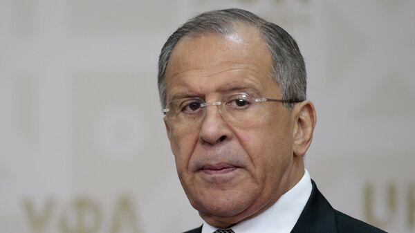 Russian Foreign Minister Sergey Lavrov - Sputnik Mundo