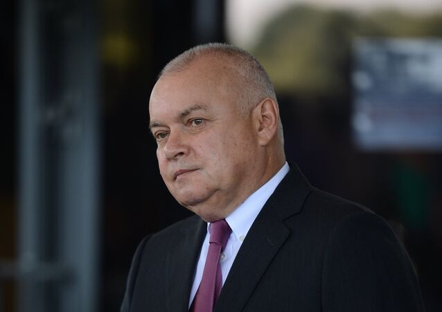 Dmitri Kiseliov, director de la agencia de noticias Rossiya Segodnya
