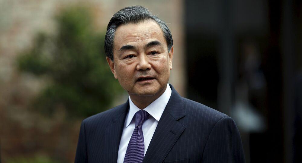 Wang Yi, ministro de Exteriores chino