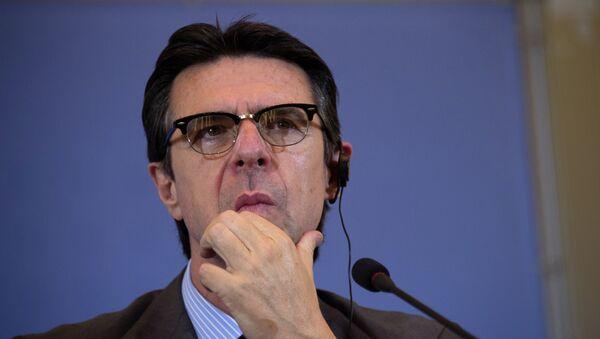 José Manuel Soria, ministro de Industria, Energía y Turismo en España - Sputnik Mundo