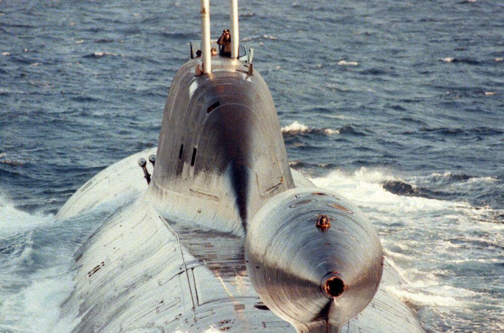 Submarino nuclear del proyecto 971 clase Schuka-B (Akula, según el código de la OTAN)
