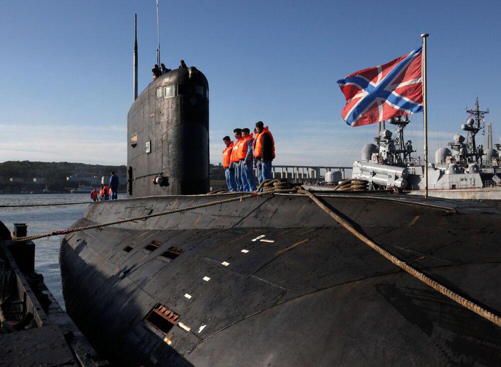 Submarino diésel-eléctrico del proyecto 636 clase Varshavianka (Improved Kilo, según el código de la OTAN)