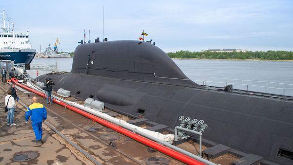 Submarino nuclear de Rusia del proyecto Yasen - Sputnik Mundo