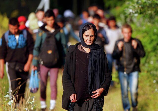 Migrantes afganos