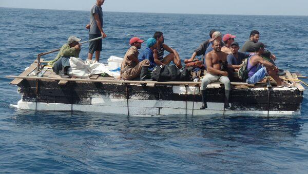 Migrantes cubanos - Sputnik Mundo