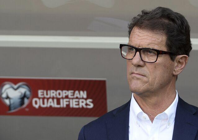 Fabio Capello, exdirector técnico de la selección nacional de Rusia