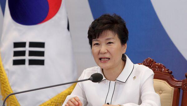 Park Geun-hye, presidenta de Corea del Sur - Sputnik Mundo