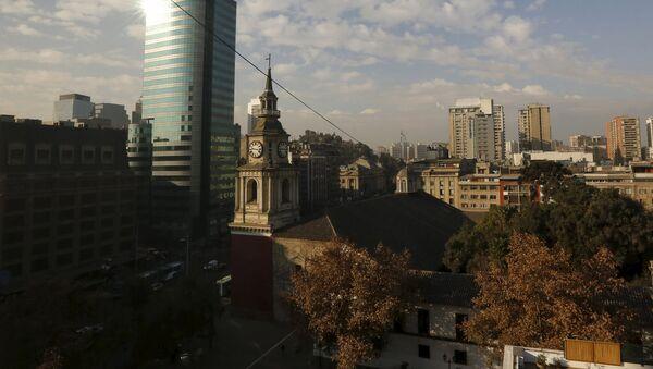 Iglesia de San Francisco en Santiago de Chile - Sputnik Mundo