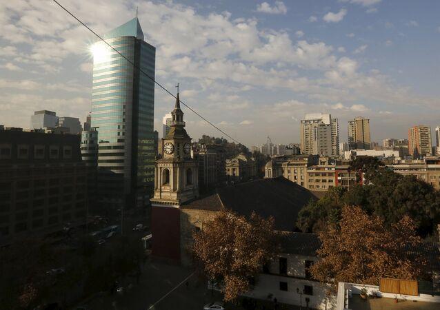 Iglesia de San Francisco en Santiago de Chile